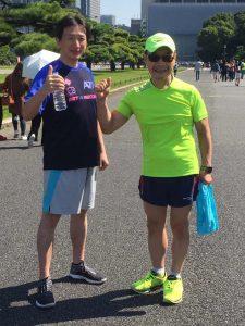 40代の目標、ホノルルマラソン完走を目指します。