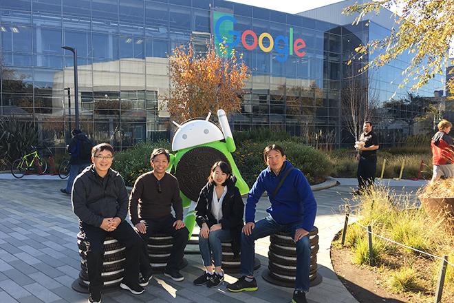Google社とApple社の見学