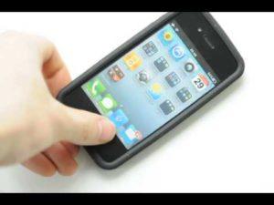 シリコン製のiPhoneケースの質感と着脱方法