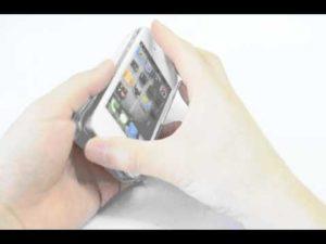 iPhoneハードケースの取り付け方