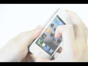 iPhoneハードケースの取り外し方