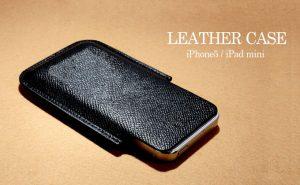 LEATHER CASE /iPhone5/iPad mini