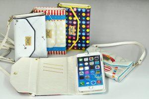 【iPhone6/6 Plus】ストラップ付きバッグ型レザーケースオリジナル印刷開始のお知らせ