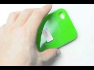 TPU製のiPhoneケースの質感紹介